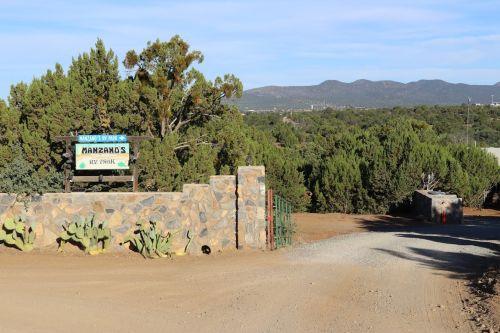 RV Camping in southern New Mexico at Manzano
